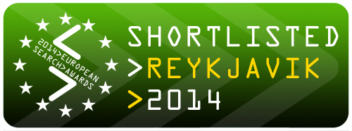 European Search Awards Shortlist Badge