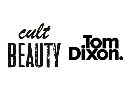 Cult Beauty and Tom Dixon logo's