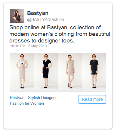 Twitter Advertising for Bastyan
