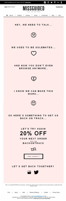 Missguided-email