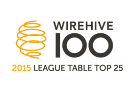 WireHive top 25 league table logo